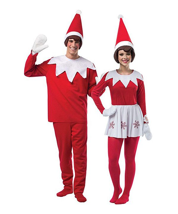 Look at this Adult Elf on The Shelf Couples Costume Set - Adult on #zulily  today! | Halloween | Halloween, Halloween costumes, Christmas costumes - Look At This Adult Elf On The Shelf Couples Costume Set - Adult On
