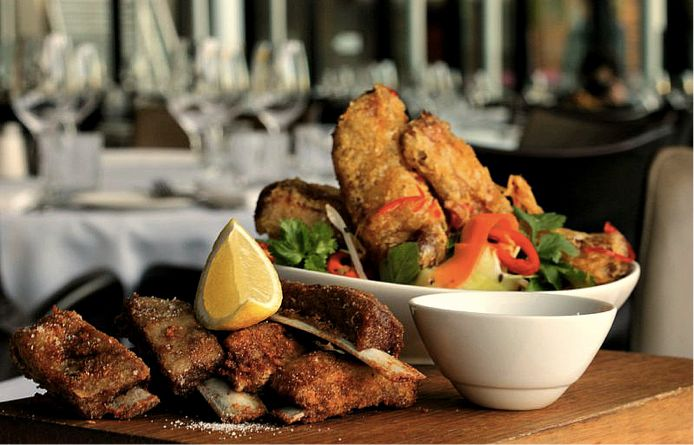Which would you rather: #ChaChaChars crispy #pork ribs with chilli ginger caramel sauce or salt & pepper #lamb ribs with minted yoghurt...or both? #brisbane #food #steak  https://www.facebook.com/ChaChaCharBrisbane?ref=hl
