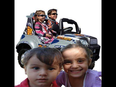 Elifin Akülü Araba Keyfini izleyelim-Toys Car