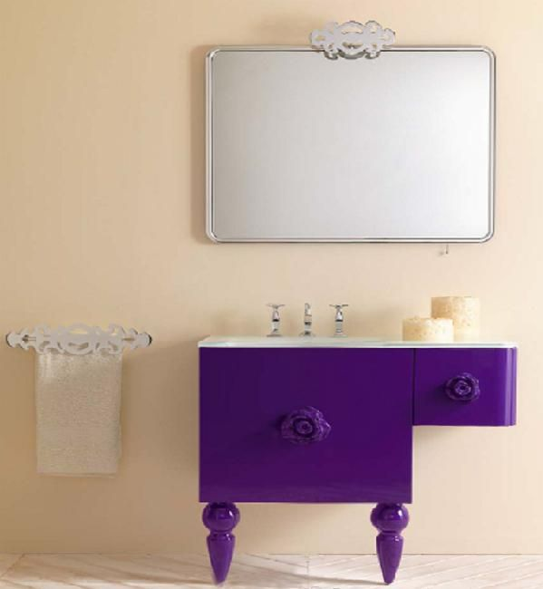 Bathroom Cabinets Colors best 25+ purple bathroom furniture ideas on pinterest | purple