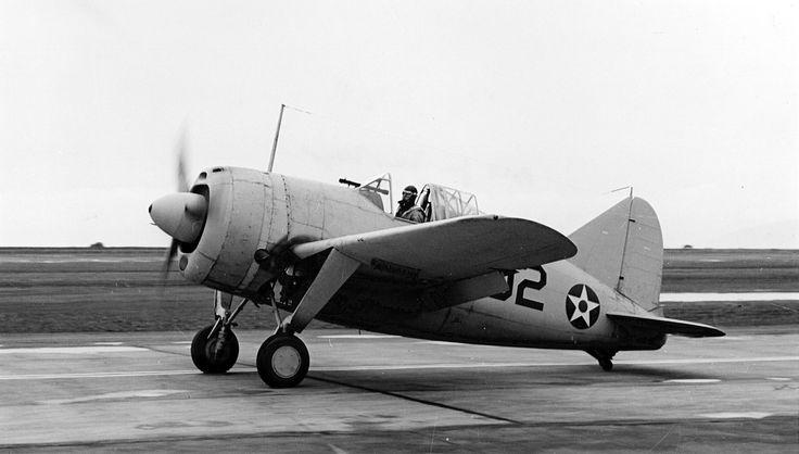 Brewster F2A-2 Buffalo VF-2