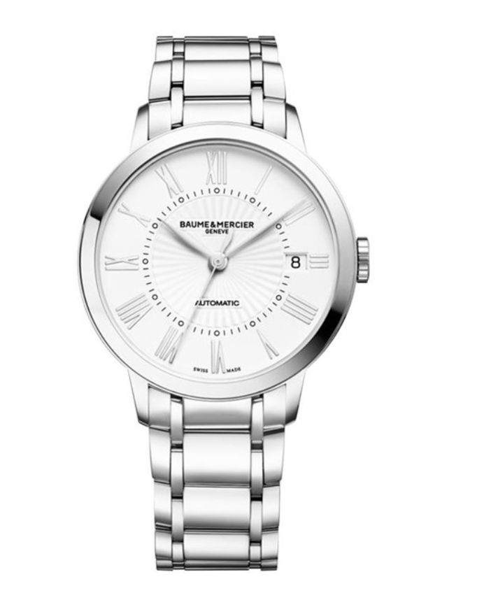 Model:Classima Lady Automatic Ref. M0A10220 Movement:Automatic Gender:Female Complications:Date, Minute Hand, Second Hand, Hour Hand Shape:Round Case Material:Stainless Steel Dail colour:White Engraved Size:36.50 mm Material:Stainless Steel Price:€ 2 500 @colmanwatches