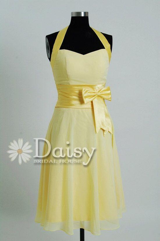 Pale Yellow Dress