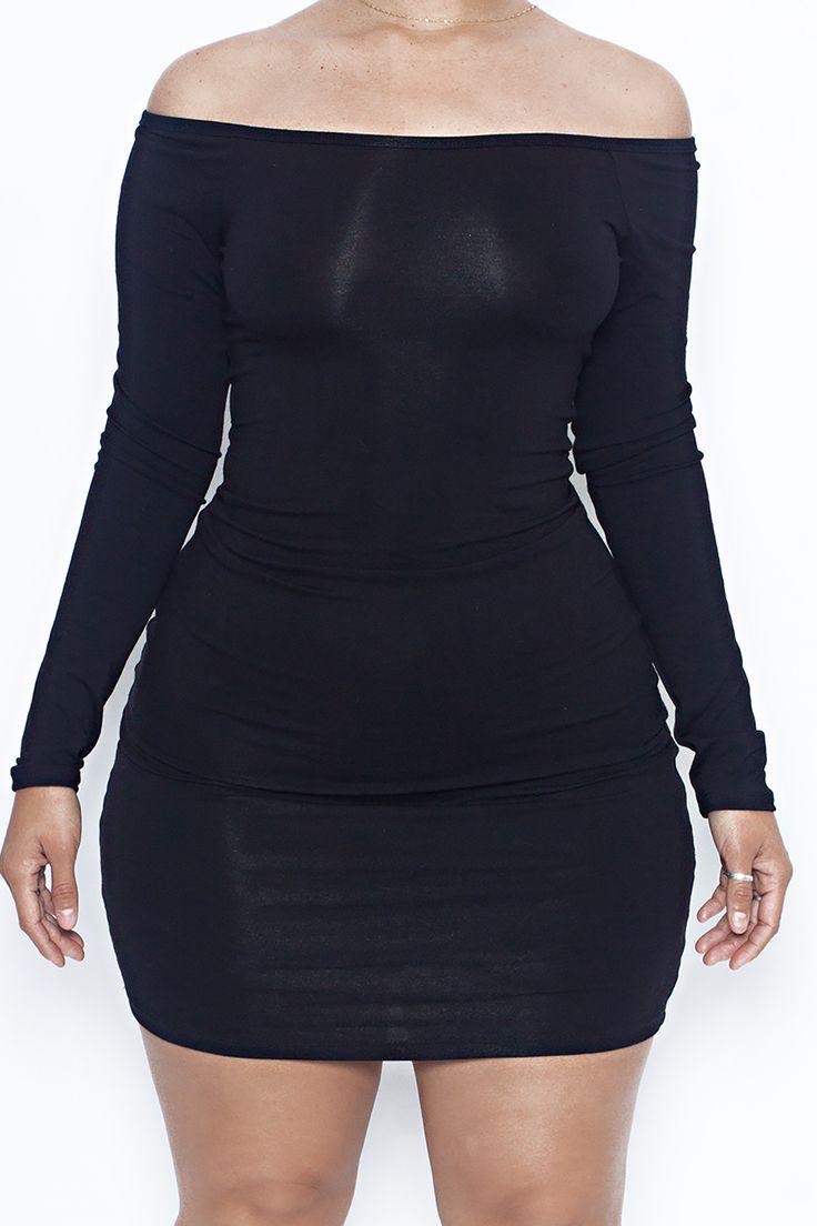 The Off Shoulder Staple Dress