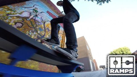 Ryan Decenzo & Greg Lutzka 'In the Streets' – Butter Benches – OC Ramps: Source: OC Ramps