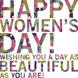 Let's celebrate International Women's Day- March 8!!