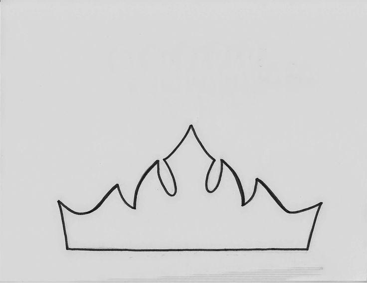 molde da coroa da elza