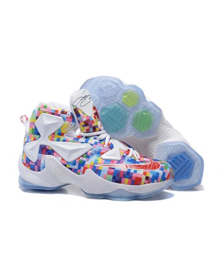 "Nike Lebron 13 ""Colorful"" Lebron James 2016 Shoes Mixing Colors"