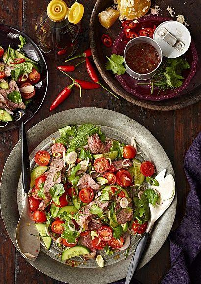 Тайский салат с говядиной  http://www.flavor.ua/tayskiy-salat-s-govyadinoy/