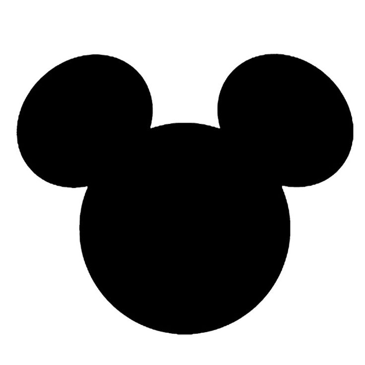 Precious Mickey and Minnie Heads. Right click and save as