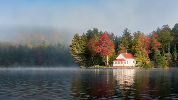 Fall Sunset Wallpaper Fall In Maine Google Search Lake House Dream