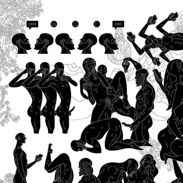 Istrošena i vječna ljubav 😍😵🥑 #detail #workinprogress #eternal #love #dead #blacknwhite #figure #human #male #female #sex #orgasam #digital #kamasutra #selfie #beauty #self #network #cyber #chat #online #illustration #graphic #graphicdesign #lines #montenegro