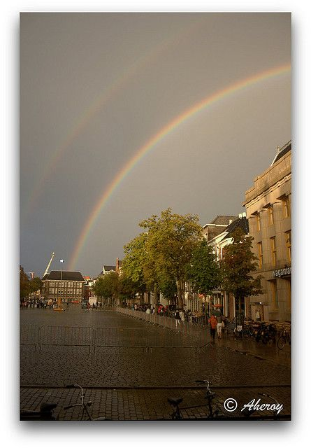 Rainbow over Vismarkt,Groningen stad,the Netherlands,Europe | Flickr - Photo Sharing!