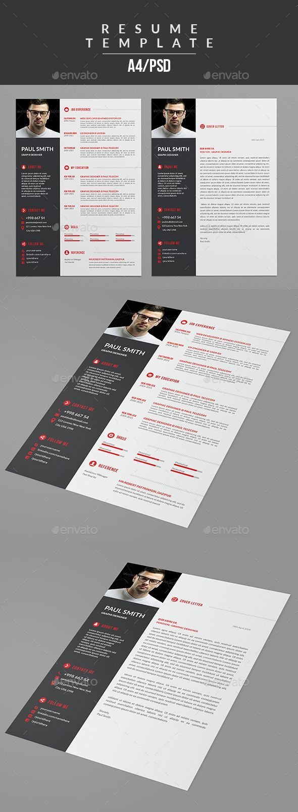 noc letter format%0A  Resume  Resumes Stationery Download here  https   graphicriver net