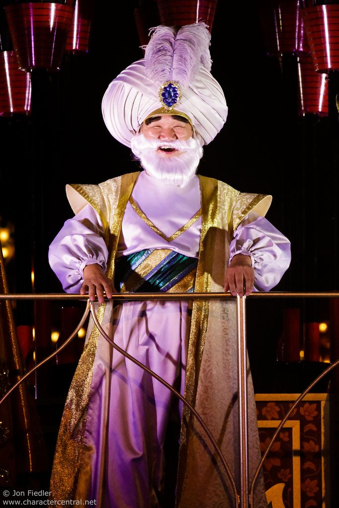 Sultan at Disney Character Central