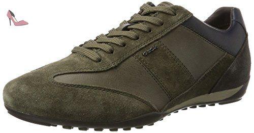 Geox U Jaylon C, Desert Boots Homme, Gris (Black/DK Grey), 41.5 EU