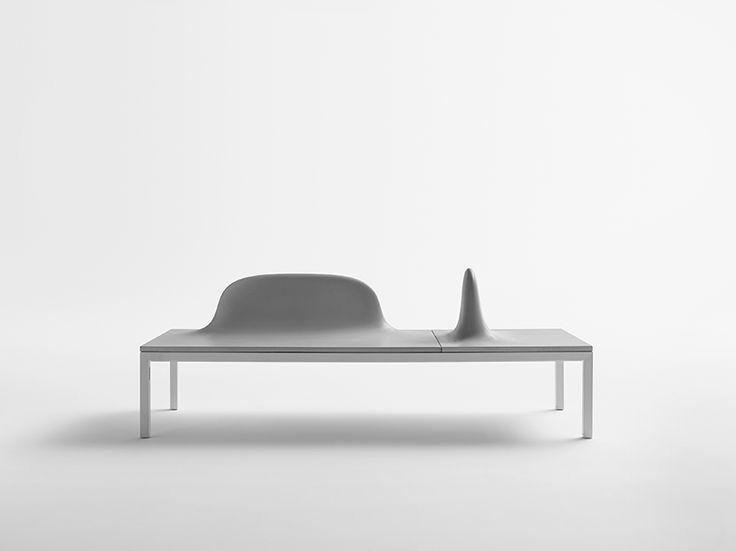 Shiro Studio Uluru Concrete Modular Benches Designboom