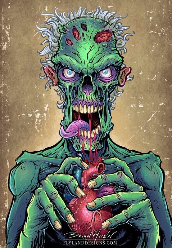 Zombie Art http://thinkcookcookworld.com/