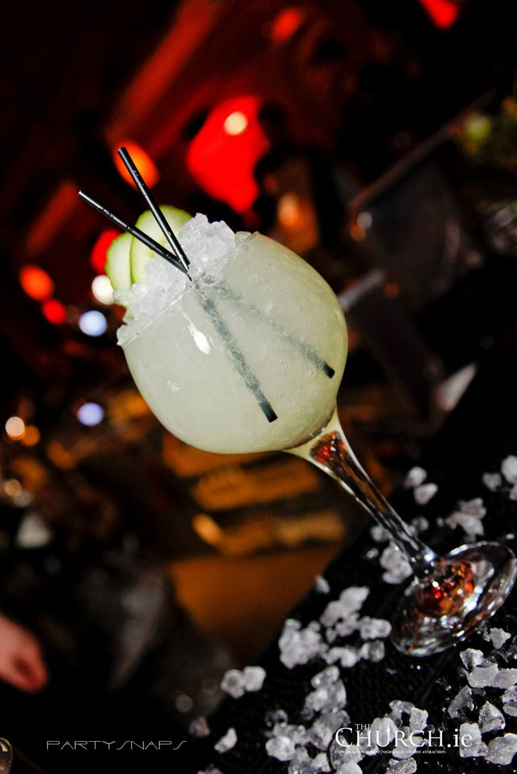 NEW!! Cucumber Pear Fizz #Refreshing #Cocktail #Dublin #TheChurchDublin