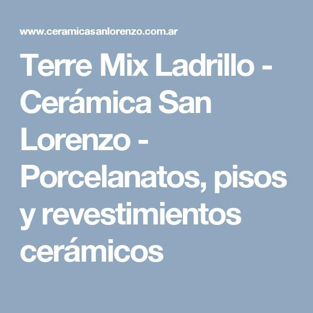 Terre Mix Ladrillo - Cerámica San Lorenzo - Porcelanatos, pisos y revestimientos cerámicos