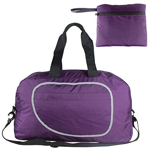 Teamoy Duffle Bag, Gym Bag for PE Kits, Swimming Gear, Sport Stuff, Travel Essentials and More--Lightweight, Foldable into Itself, Large Capacity