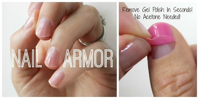 how to take off gel nails without acetone