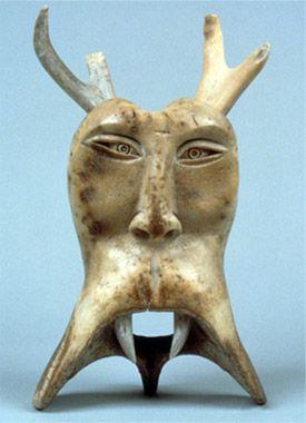 Inuit art, provenance unknown. via inuit art alive