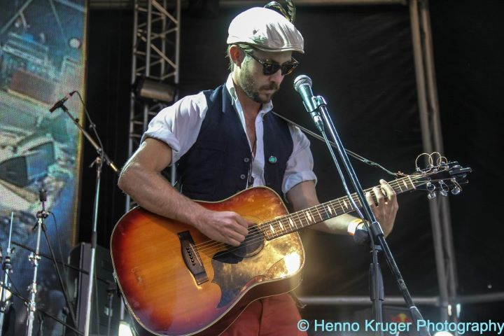 Jeremy Loops on stage @ Oppikoppi 2012 Sweet Thing