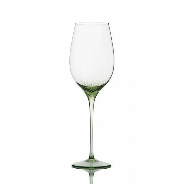 PRODUCTS :: LIVING AND DESIGN :: Kitchen :: Glasses :: Sera-Irida Бокал под белое вино (Sedozelena - светло-зеленый)
