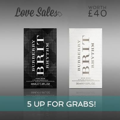 Have you heard?  We are also giving away 5 Burberry Brit Rythm Fragrance to our LoveSales users! More info here --> http://po.st/R2X2t9. Log into Lovesales.com, Like & Comment below to win. Good Luck! #Competition #Contest #lovesales #burberry #britrhtyhm