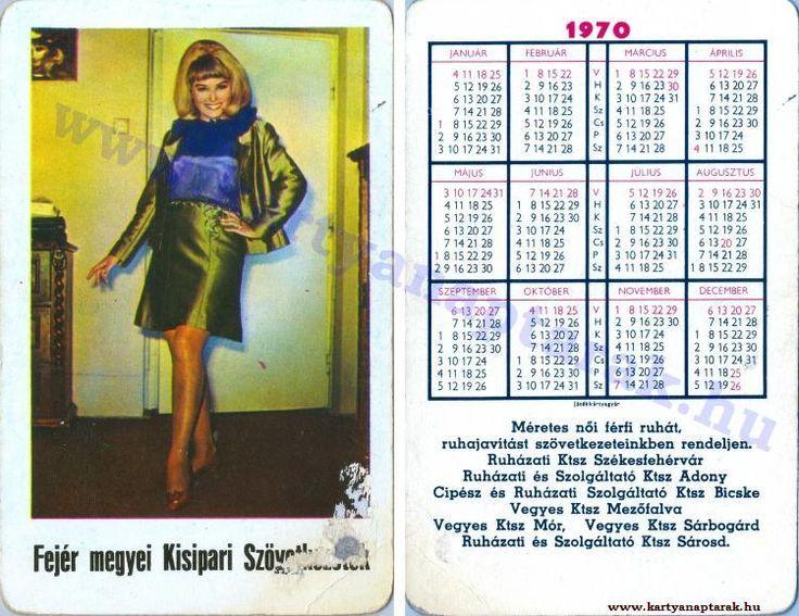 1970 - 1970_0454 - Régi magyar kártyanaptárak