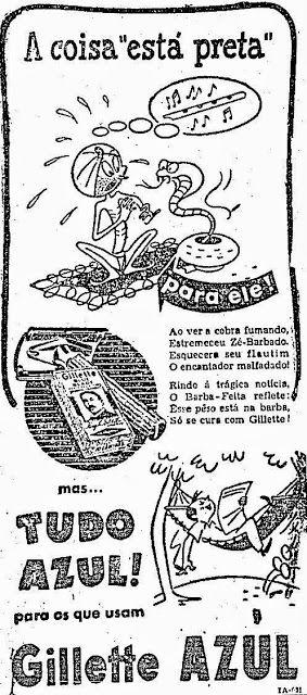 Gillette (A coisa está preta) - 1951
