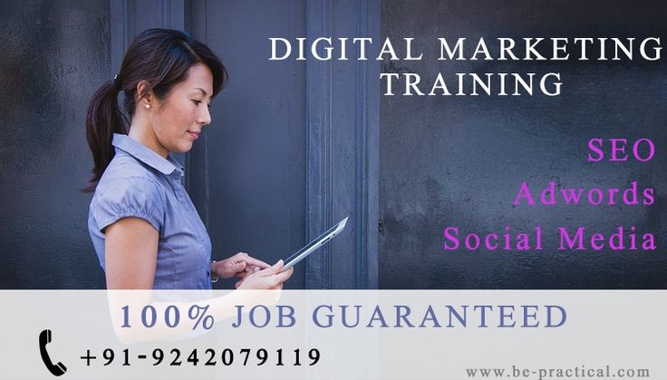 Be practical institute for digital marketing carry off to the real world of SEO-SEM-SMO-PPC Training with real time projects with certified experts, 100% placement assistance.... For more details visit : www.be-practical.com Or call +919242079119