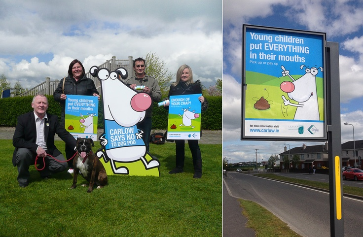 Carlow Local Authorities - Carlow Dog Fouling Campaign