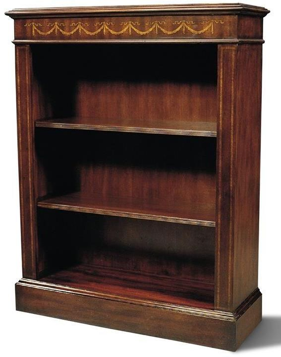 Bookcase Scarborough House Mahogany Two Adjustable Shelves Traditional Furniture Mahogany Bookcase Antique Bookcase Vintage Bookshelf Bookcases For Sale