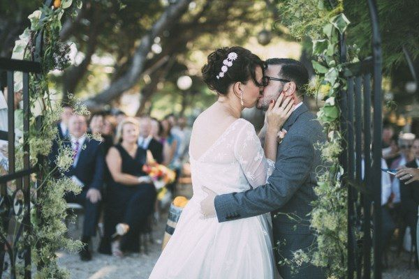 We're featured in Whimsical Wonderland Wedding blog -check out our Rustic Outdoor Croatia Destination Wedding