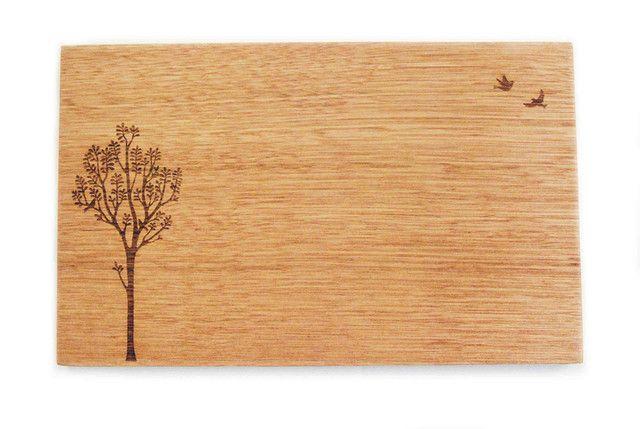 Bird Tree Small Cheeseboard