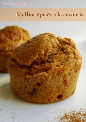 Muffins épicés à la citrouille