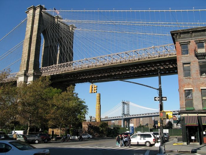 What to do after you walk across the Brooklyn Bridge... Walking across the Brooklyn Bridge is one of New York's most famous routes, a favorite for both tourists and born and bred New Yorkers.
