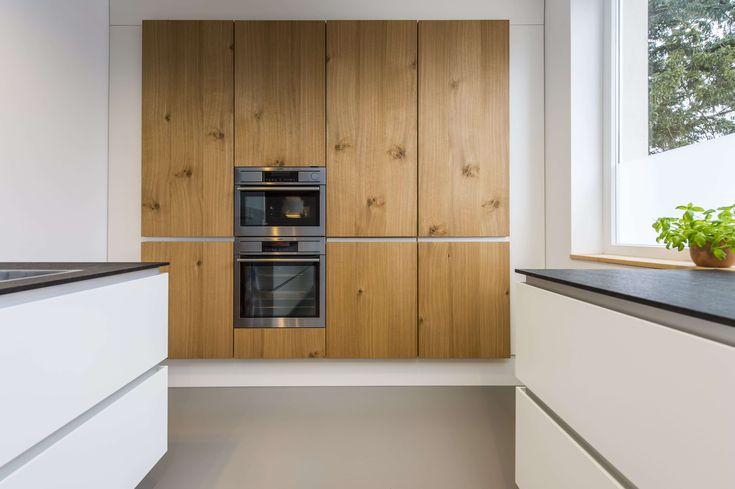 Skandinavisches design moderne wohnk che im alten for Skandinavisches haus bauen