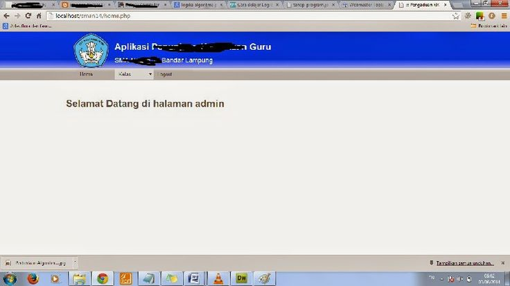Cara Membuat Menu Website di Dreamweaver