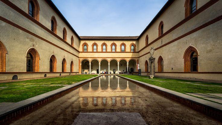 Castello Pool   by Niklas Rosenberg #Milan #Italy