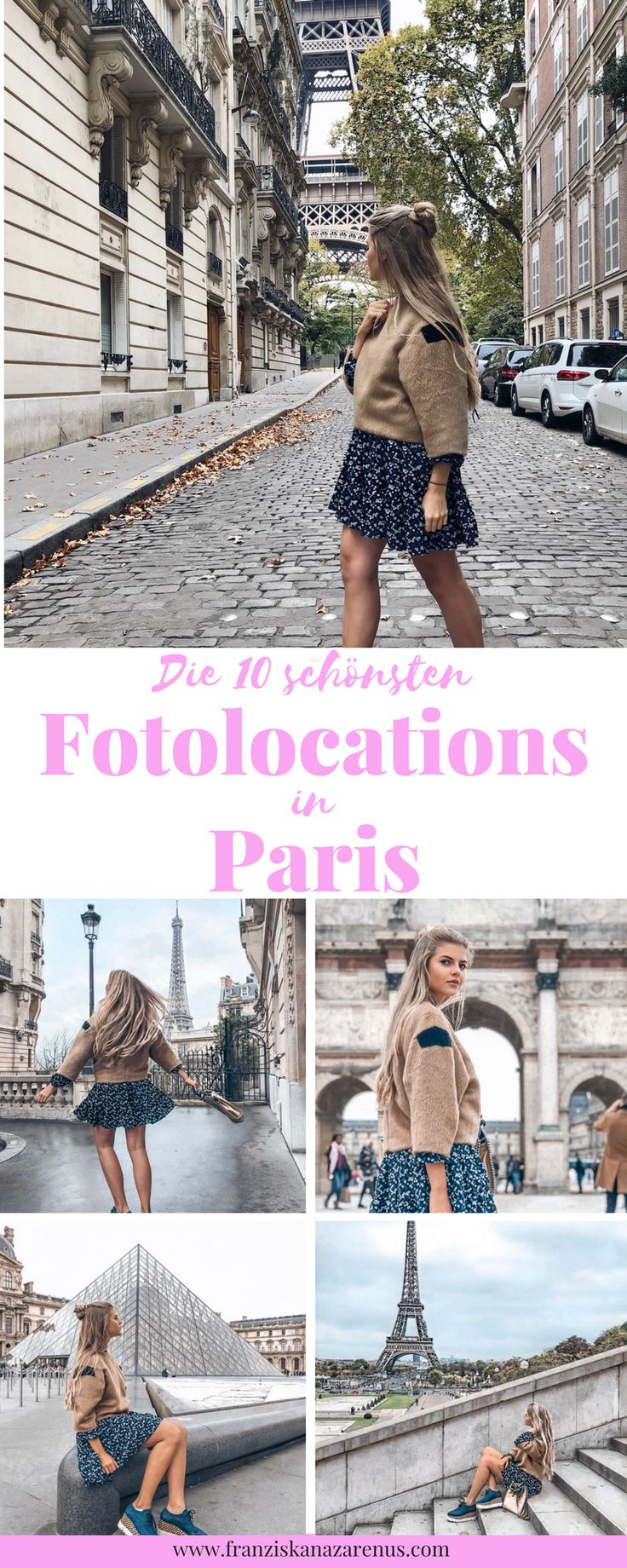 Las 10 ubicaciones de fotos más bonitas de París