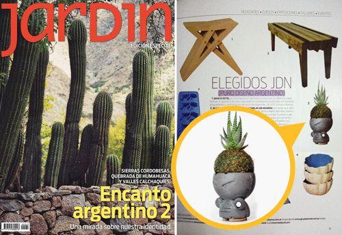 JUAN El Aventurero. REVISTA JARDIN -Nota Elegidos JDN-. Julio 2014