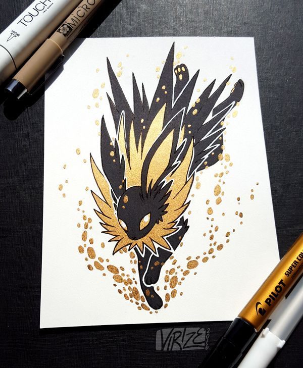 If you remember the Black and Gold Vaporeon I drew a couple months ago   here. The 25  best Shiny vaporeon ideas on Pinterest   Evee evolution
