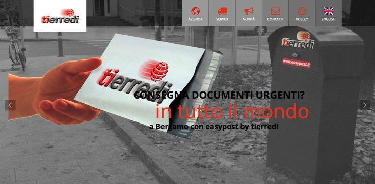 Easy Post >>> www.tierredi.it/novita.html#easypost  Una novità a livello nazionale! Tierredi ✆ 035 213 015