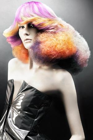 Hair: Darren Ambrose at D Ambrose, London. Photography: Kyoko Homma