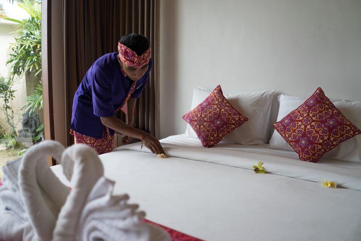 Bali, Indonesia. Sahaja Sawah Luxury resort. Perfect for Digital Nomads.