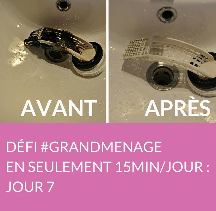 Jour 7 du défi #GRANDMENAGE : après avoir rangé et nettoyé les placards de sa salle de bain, Marie s'attaque à sa machine à laver ! Suivez jour après jour le défi #GRANDMENAGE de la rédac' : http://www.deco.fr/nettoyage/actualite-769410-defi-menage-15-minutes.html
