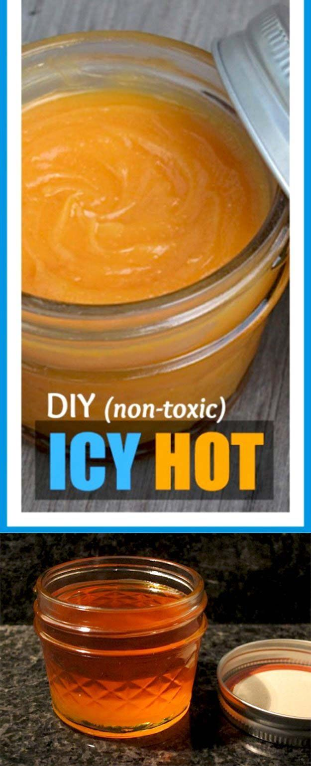DIY Icy Hot Pain Relieving Salve